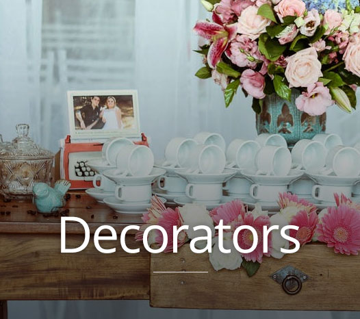 Find wedding decorators in Brisbane, Sydney, Melbourne, Adelaide and Perth using Australia's wedding directory, Wedding Match.